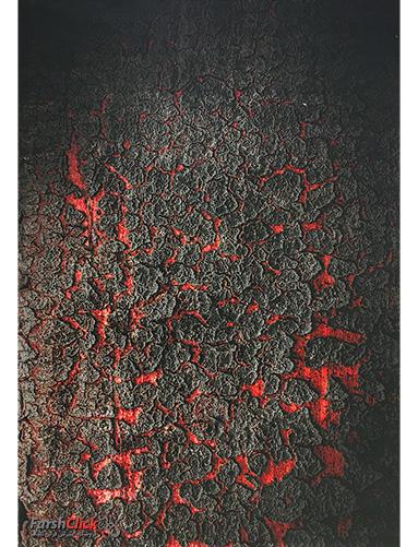فرش مدرن فانتزی فرش ساوین -  ماگما 1318 - 9 متری  چند رنگ