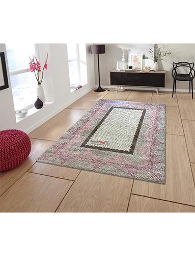 فرش مدرن فانتزی فرش ساوین -  ساوین مد 1505- 9 متری  صورتی
