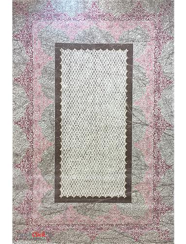 فرش مدرن فانتزی فرش ساوین -  ساوین مد 1505- 1/5 متری  صورتی