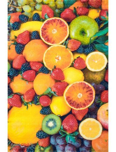 فرش مدرن فانتزی فرش ساوین -  میوه 1354 - 6 متری  چند رنگ