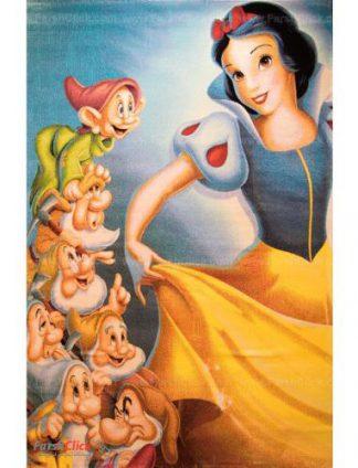 فرش کودک فرش ساوین -  سفید برفی و هفت کوتوله 2044 -12متری  چند رنگ