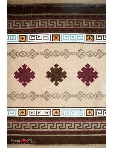 فرش مدرن فانتزی فرش ساوین -  آدنا - آریانا - قالیچه  شکلاتی