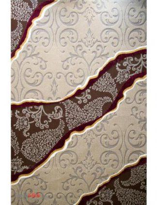 فرش مدرن فانتزی فرش ساوین -  آدنا - سیمین - 9 متری  شکلاتی