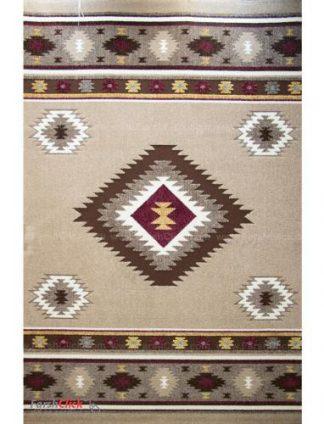 فرش مدرن فانتزی فرش ساوین -  آدنا - ویدا - 9 متری  شکلاتی