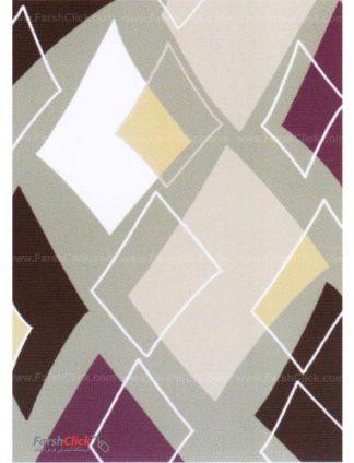 فرش مدرن فانتزی فرش ساوین -  بامیس - قالیچه  شکلاتی