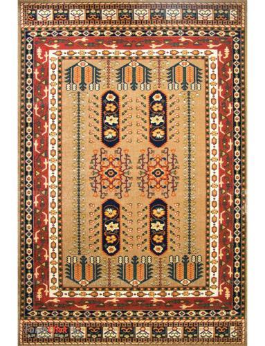 فرش مدرن فانتزی فرش ساوین -  بهرخ - 9 متری  خاکی
