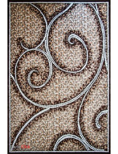 فرش مدرن فانتزی فرش ساوین -  ماهور - هارمونی - 9 متری  قهوه ای