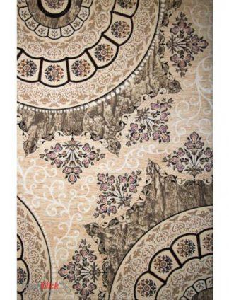 فرش مدرن فانتزی فرش ساوین -  ماهور - سایه - قالیچه  کرم
