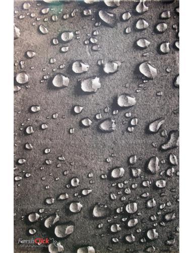 فرش مدرن فانتزی فرش ساوین -  طرح قطره - 1316 - 1/5 متری  چند رنگ