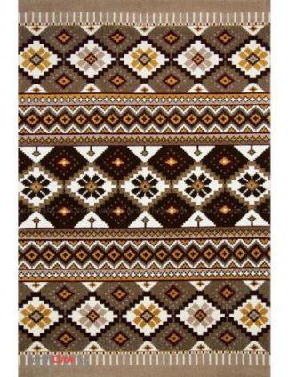 فرش مدرن فانتزی فرش ساوین -  پرستو - 9 متری  شکلاتی