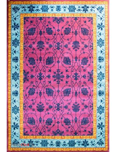 فرش مدرن فانتزی فرش ساوین -  سروناز - قالیچه  سرخابی