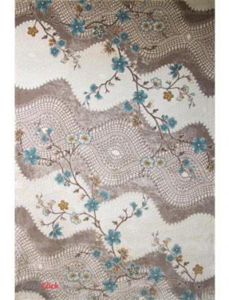 فرش مدرن فانتزی فرش ساوین -  ساوین مد 1503 - قالیچه  آبی