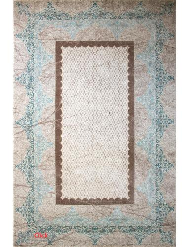 فرش مدرن فانتزی فرش ساوین -  ساوین مد 1505- 1/5 متری  آبی