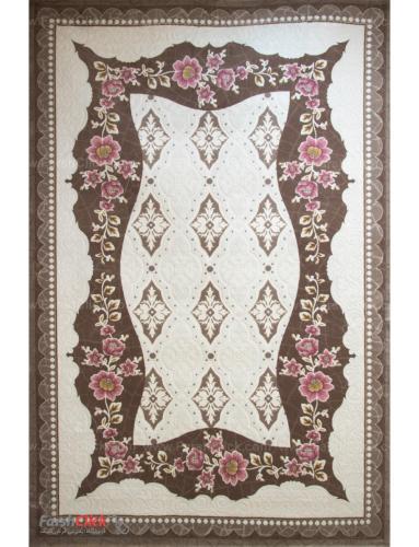 فرش مدرن فانتزی فرش ساوین -  ساوین مد 1507 - قالیچه  صورتی