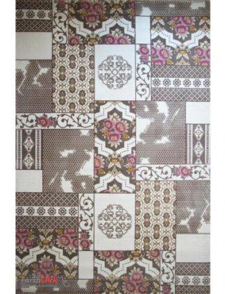 فرش مدرن فانتزی فرش ساوین -  ساوین مد 1508 - 6 متری  صورتی