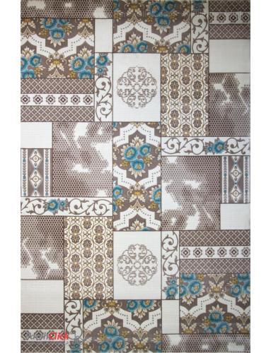 فرش مدرن فانتزی فرش ساوین -  ساوین مد 1508 - 12 متری  آبی