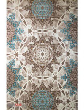 فرش مدرن فانتزی فرش ساوین -  ساوین مد 1509 - قالیچه  آبی