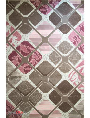 فرش مدرن فانتزی فرش ساوین -  ساوین مد 1510 - 9 متری  صورتی