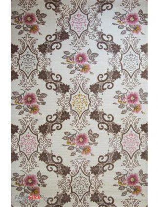 فرش مدرن فانتزی فرش ساوین -  ساوین مد 1511 - قالیچه  صورتی
