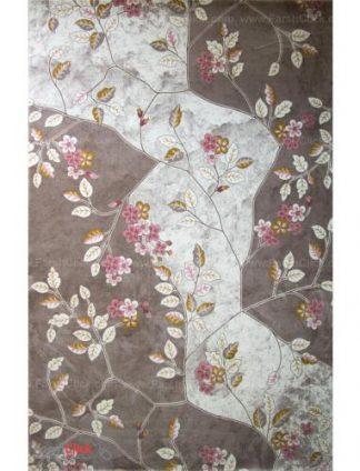 فرش مدرن فانتزی فرش ساوین -  ساوین مد 1512 - 12 متری  صورتی