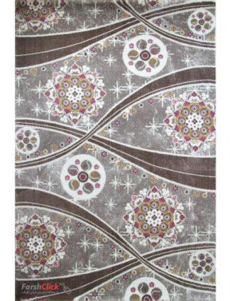 فرش مدرن فانتزی فرش ساوین -  ساوین مد 1513 - قالیچه  صورتی