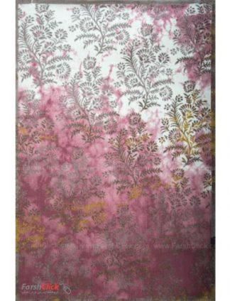 فرش مدرن فانتزی فرش ساوین -  ساوین مد 1516 - 1/5 متری  صورتی