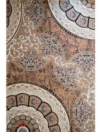 فرش مدرن فانتزی فرش ساوین -  سایه - 9 متری  گردویی