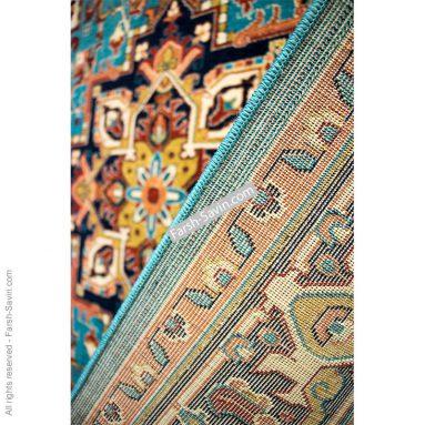 هریس آبی فرش ساوین گبه ی روستایی