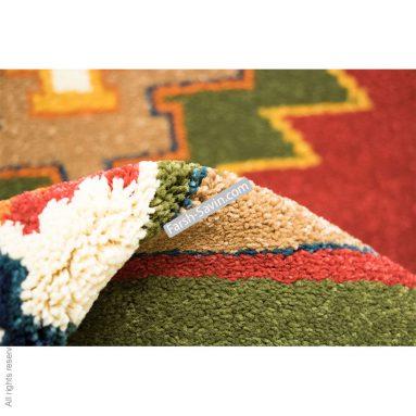 طرح نیایش سرمه ایی فرش ساوین