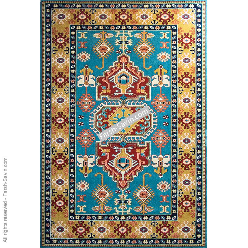 طوبی آبی فرش ساوین