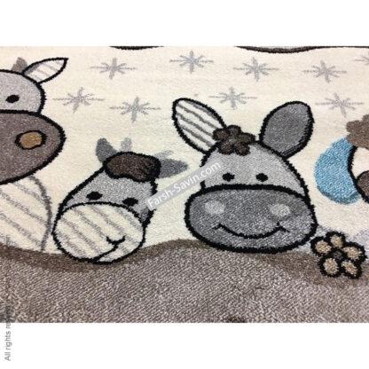 فرش ساوین 4034 حیوانات مزرعه اتاق کودک