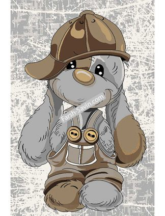 4059 فرش کودک خرگوش