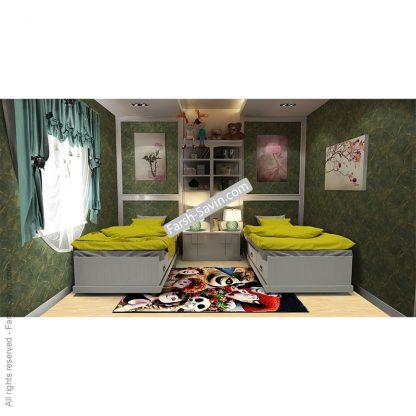 فرش اتاق کودک ساوین 7504 هتل ترانسیلوانیا