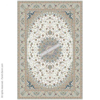 3003 کرم حاشیه فیلی فرش ساوین