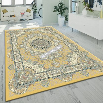 3007 زرد فرش ساوین