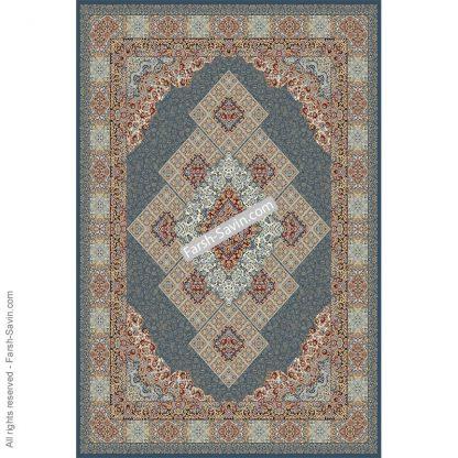 2051 آبی تیره فرش ساوین