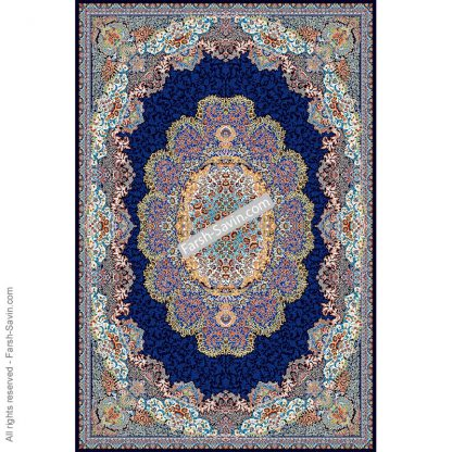 1572 سرمه ای فرش ساوین