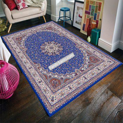 1574 آبی تیره فرش ساوین
