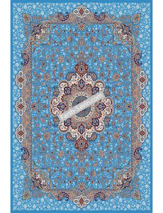 1575 آبی فیروزه ای فرش ساوین