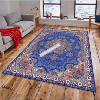 1577 آبی تیره فرش ساوین