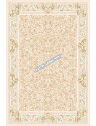 3120 کرم استخوانی 4 رنگ فرش ساوین
