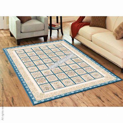 3122 آبی فرش ساوین