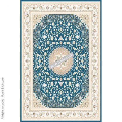 3126 آبی فرش ساوین