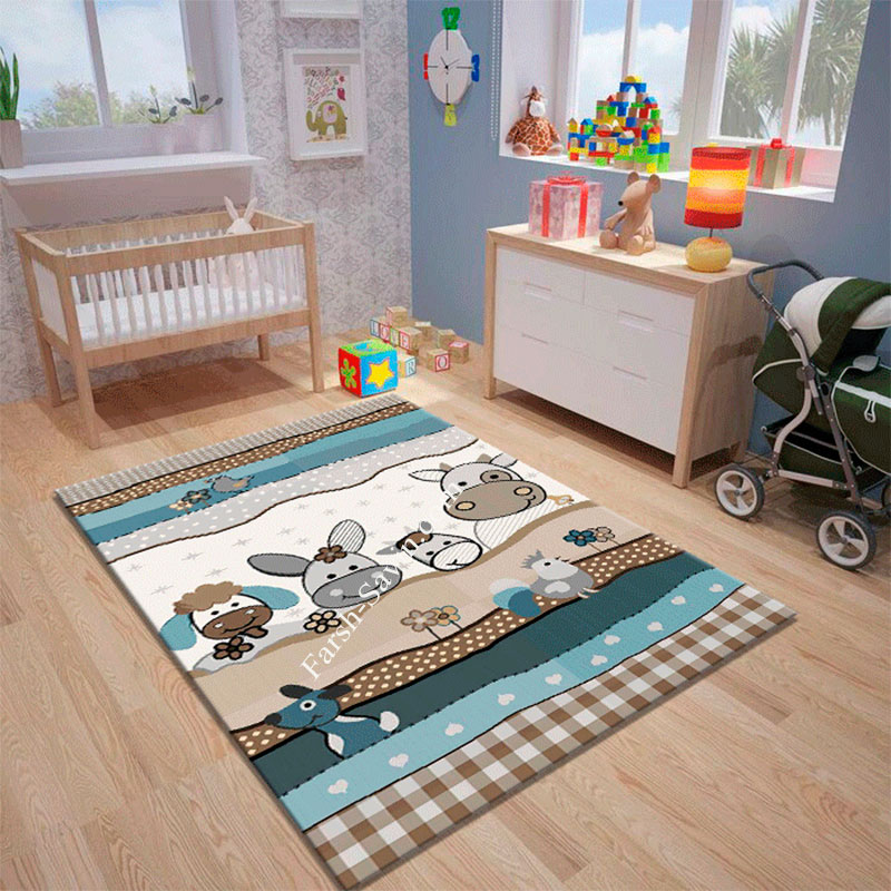 فرش ساوین 4034 خرید فرش کودک
