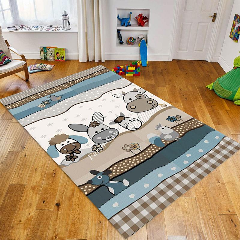 فرش ساوین 4034 کودک ارزان