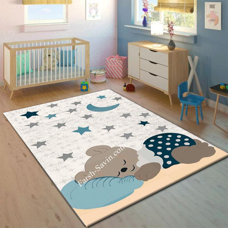فرش ساوین 4035 کودک با قیمت مناسب