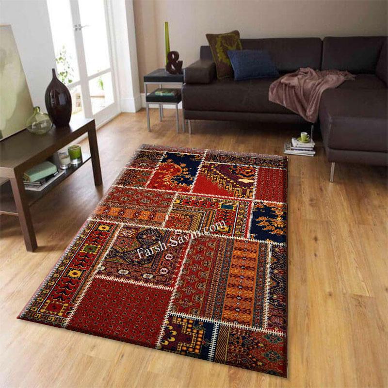 فرش ساوین چهل تیکه فرش ارزان قیمت