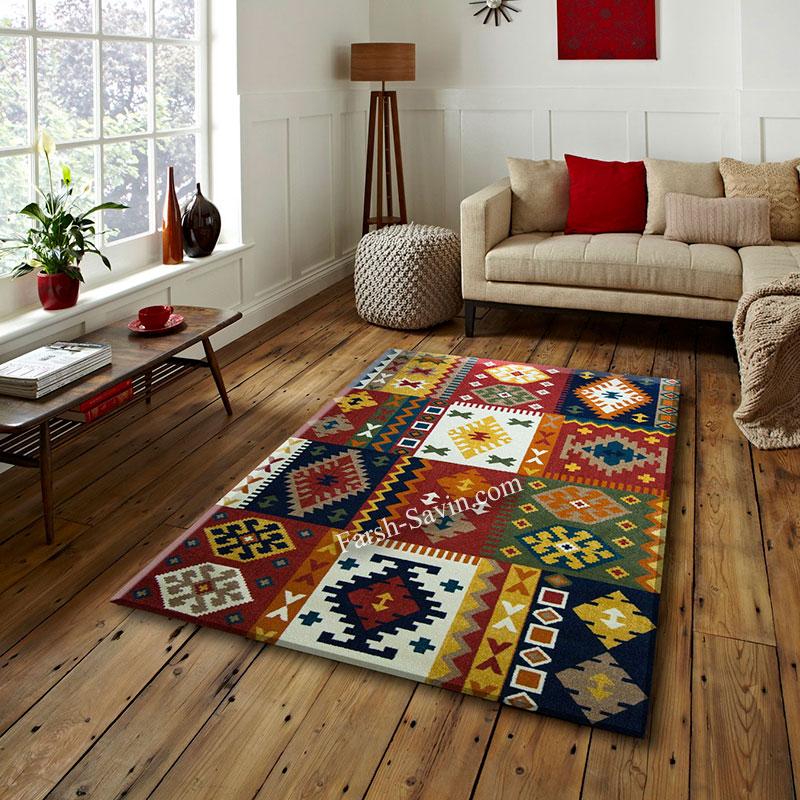 فرش ساوین کوکب لاکی فرش با کیفیت