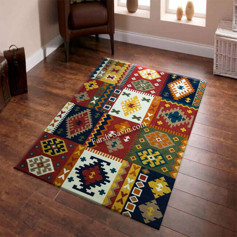 فرش ساوین کوکب لاکی فرش با قیمت مناسب