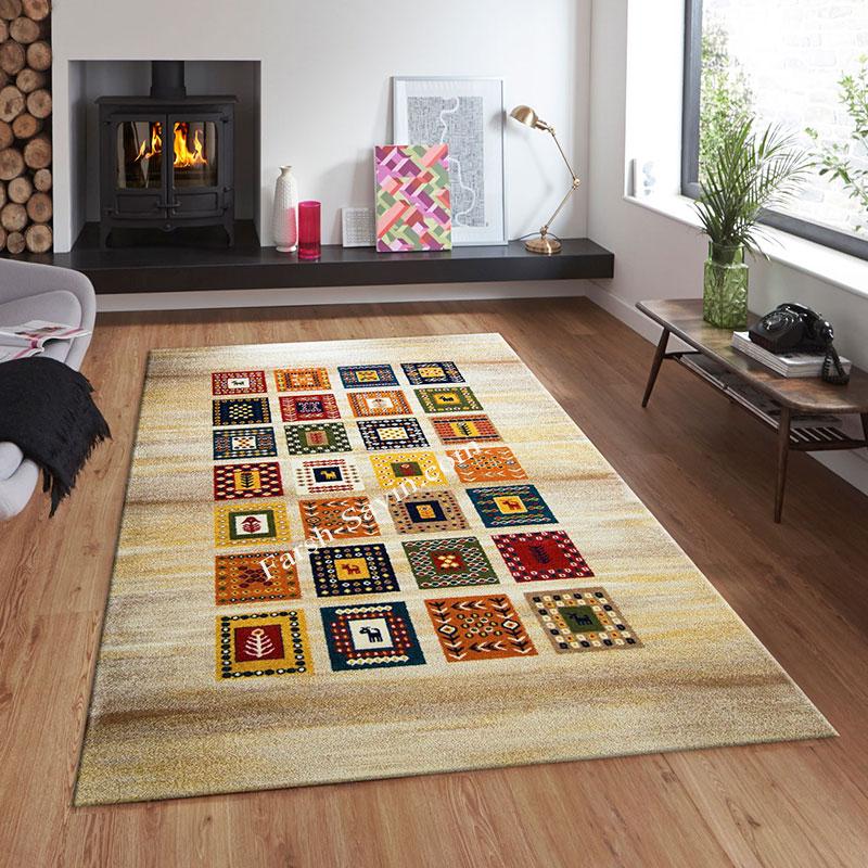 فرش ساوین مهر کرم فرش شیک